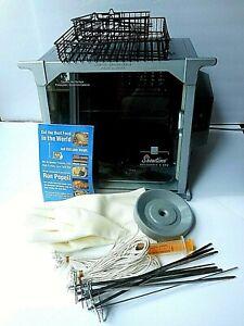 Ronco Showtime 5000 Platinum Edition Indoor Rotisserie & BBQ Oven & Accessories