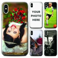 Personalised Custom Photo Phone Case Cover For Apple iPhone XR Xs Max 6 7 8 Plus