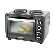Cookworks 28L Mini Oven with Hob Grill and Rotisserie 2500W