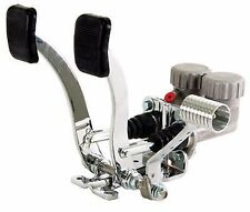Pedal Assembly 3/4 + 3/4 Bore Cylinders Roller Pedal VW Sand Rail dune buggy