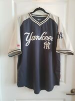 Stitches New York YANKEES Pullover Embroidered Jersey Mens XL EUC! Authentic