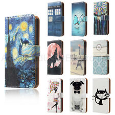 HOUSSE ETUI COQUE POCHETTE CUIR LEATHER * WALLET * pour iPHONE 6S 7 Plus LG