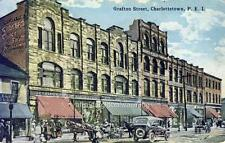 Old Photo. Charlottetown, Prince Edward Island. Grafton Street