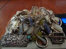 Sterling Silver Scrap or Not Lot of Mixed Jewelry Pieces!! Including Silpada !!!