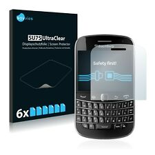 6x Savvies Screen Protector for RIM BlackBerry Bold Touch 9900 Ultra Clear