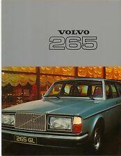 Volvo 265 Estate DL & GL 1976-77 Original UK Market Brochure No. RSP/PV 4105-77