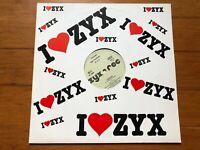 "P4F Propaganda For Frankie~P Machinery Medley~Relax~1986 ZYX Italo-Disco 12"" Sng"