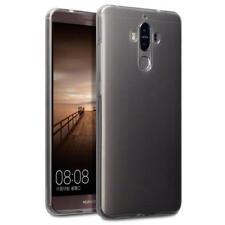 Étuis, housses et coques noirs Pour Huawei Mate 9 en silicone, caoutchouc, gel pour téléphone mobile et assistant personnel (PDA)