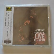 Johnny THUNDERS - Live in Japan - 1992 FIRST PRESS JAPAN CD