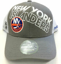 NHL New York Islanders Reebok Snapback Mesh Back Cap Hat OSFA NEW!