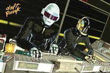 Daft Punk 24x36 Poster Grammy Music Helmet French Work It Get Lucky Pharrell NEW