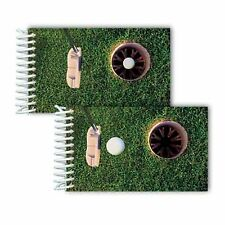"Golf Hole-in-One Spiral Notebook Lenticular Animated 2x4"" 144 Page #NBM-218#"