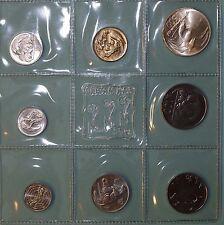 San MARINO-monete-frase 1975 con 500 LIRE ARGENTO saldati originale (13198b