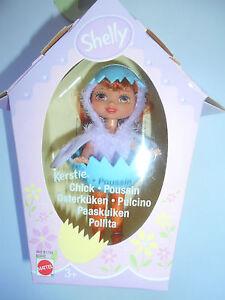 BARBIE SHELLY KERSTIE  CHICK PULCINO B1802 MATTEL