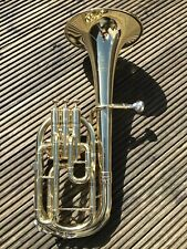 Yamaha YAH-803 Neo Eb Tenor Horn- Excellent Condition Original Lacquered Finish-