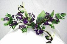 Purple Berry Swag Silk Wedding Flowers Centerpieces Arch Gazebo Decor
