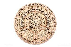 Calendario Maia - Mayan Calendar Jigsaw Puzzles Wooden Kit 19055 WOOD TRICK