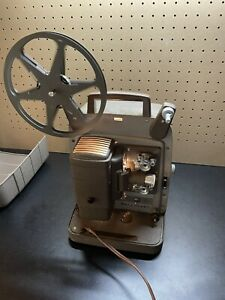 Vintage Bell & Howell Projector Model 253 AX In RARE Original Box WORKS PERFECT