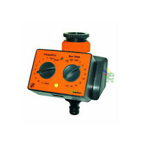 Programmatore analogico elettronico per irrigazione prato e giardino a batteria