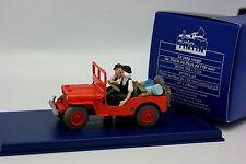En Voiture Tintin 1/43 - Jeep Willys Pays de l'Or Noir - Dupond
