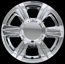 "4 CHROME 2014-2016 GMC TERRAIN 17"" Wheel Skins Full Rim Covers Center Hub Caps"