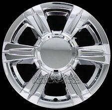 """4 CHROME 2014-2016 GMC TERRAIN 17"""" Wheel Skins Full Rim Covers Center Hub Caps"""