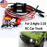 RC Car truck 1/10 LED lighting kit BRAKE + HEADLIGHT + SIGNAL fit 2.4ghz PPM FM