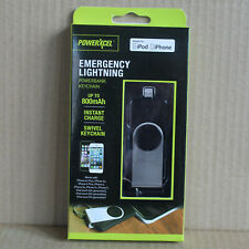 New POWERXCEL Emergency Lightning Powerbank Keychain - iPhone & iPod