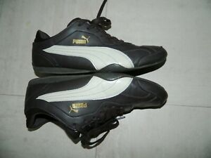 Men's Puma Trainers Shoes SIZE UK 10 EUR 44 Good Used