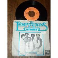 THE TEMPTATIONS - Keep Holdimg On Dutch PS 7' Soul Funk Tamla Motown