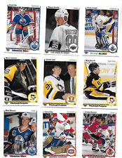 1990 Upper Deck Series 1 Base Hockey set  1 – 400  Jagr RC Gretzky Lemieux Roy