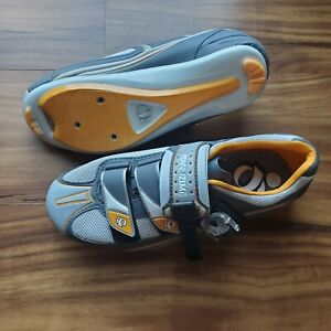 Pearl Izumi Attack Rd 5718 Road Cycling Shoes Women US 7.5 EUR 38.5 Grey