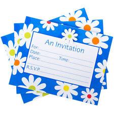 Cartes de vœux et papeterie bleus