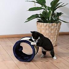 Katzenspielzeug Spielrolle Sisal/Plüsch blau Katzen Spielzeug Haustier Spielspaß