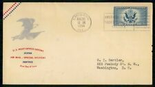 Mayfairstamps US FDC 1934 Special Delivery 16c Super Service First Day Cover wwg