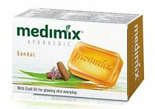 6 X 70g Medimix SANDAL Ayurvedic Soap Natural 18 Herbs Acne Pimples USA SELLER