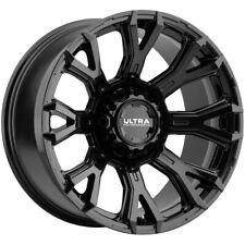 4 Ultra 123bk Scorpion 20x10 5x55x55 25mm Gloss Black Wheels Rims 20 Inch Fits More Than One Vehicle