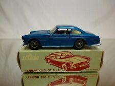 SOLIDO FERRARI 250 GT 2+2 - BLUE METALLIC 1:43 - GOOD CONDITION IN BOX