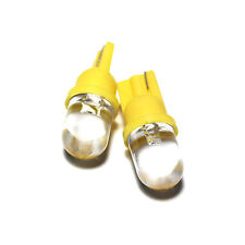 Yellow LED 'Trade' Wide Angle Xenon 'HID' Side Light Upgrade Parking Bulbs