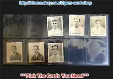 FOOTBALLERS ADDRESS: PINNACE 1922 (CARDS 501-550) (G) *PLEASE SELECT*