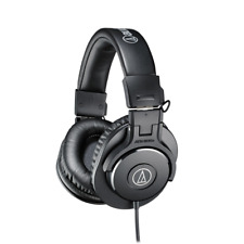 Audio Technica ATH-M30X Professional Isolation Studio Monitor Headphones - Black