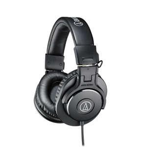 Audio Technica ATH-M30X Professional Isolation Studio Monitor Headphones - Black