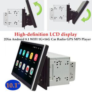 "10.1"" 2Din Android 9.1 WIFI 1G+16G Car Radio GPS Navi MP5 Player 360° Rotation"