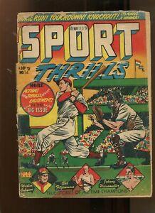 SPORT THRILLS #14 (1.0) ALL TIME CHAMPIONS 1951