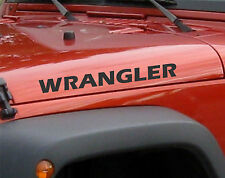 Pair of Wrangler Decals set stickers hood fender graphic