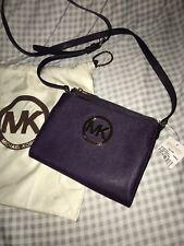 Michael Kors Fulton Crossbody bag in Purple!