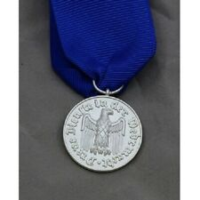 WWII WW1 German 1957 Heer 4 Years Service Medal with ribbon eagle