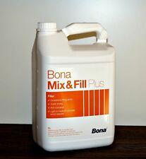 BONA Mix & Fill PLUS 5L Fugenkitt, Parkettkitt, Fugenfüller Mix und Fill