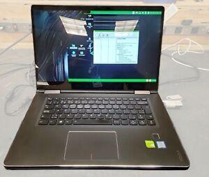 "LENOVO YOGA 750 15.6"" CORE i5-7200U 8GB NO HDD - For Parts - Cracked Screen"
