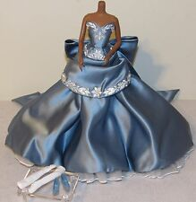 Wedgwood Barbie Blue Dress Gown Fashion Outfit Ensemble Only Wedgewood